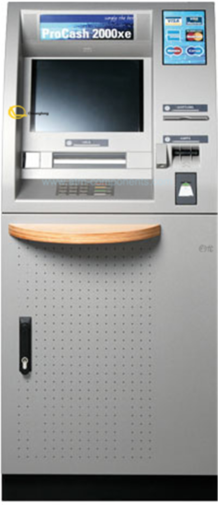 College / University ATM Cash Machine 2050 XE P / N Easy To Use Grey Color